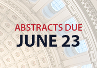 Abstracts due June 23